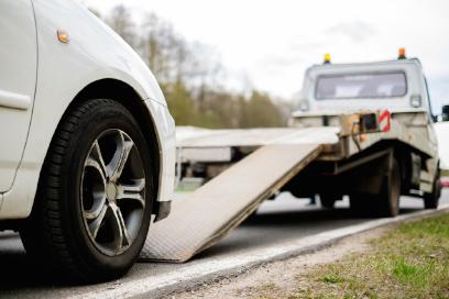 Remorquage d'une voiture - Remorquage Jolicoeur à Joliette